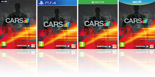 Project CARS Box Art