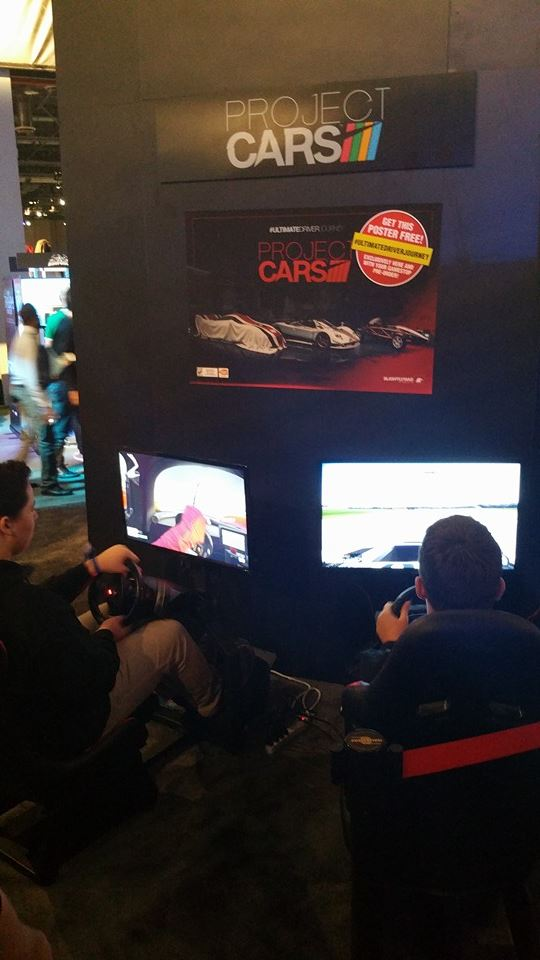 Project CARS на PlayStation Experience 2014