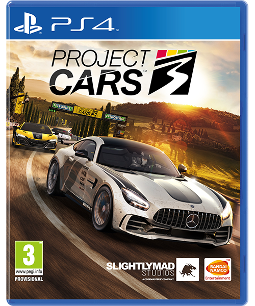 Project CARS 3 Box Art